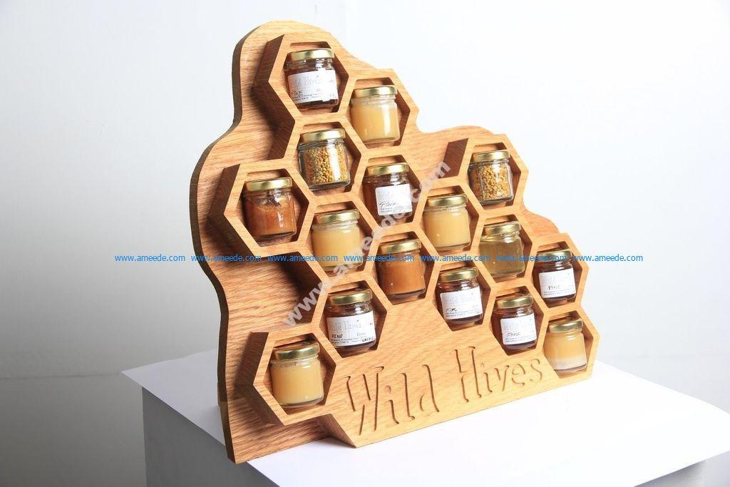 Wild Hives Honey Display