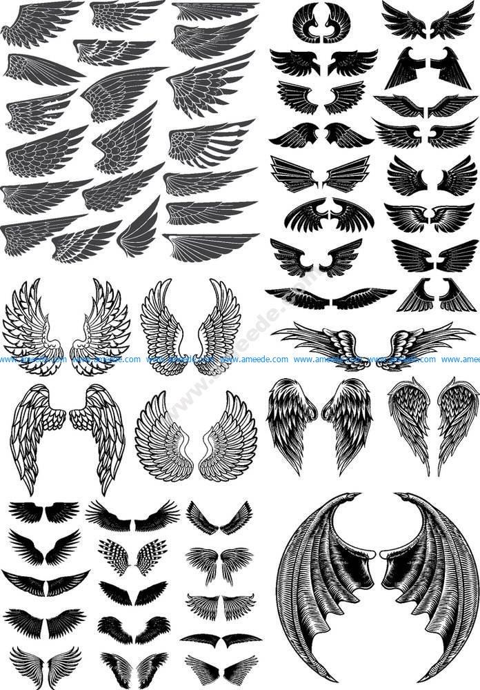 Wings Vector Pack