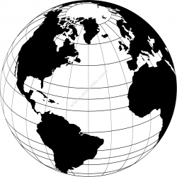 World Globe Vector
