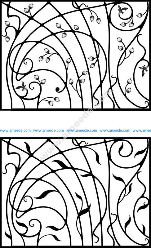 Wrought Iron Gate Door Fence Window Grill Railing Design Vector Art Download Free Vector