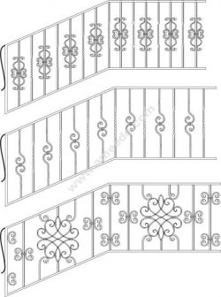 Wrought Iron Stairs Railing
