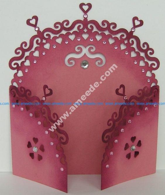 Gate Fold Card 12