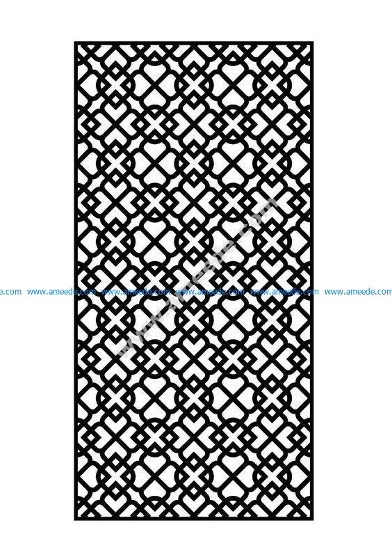 laser cut metal panel
