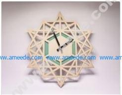 Clock Laser Cut
