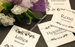 Engraving Ceramic Garden Markers