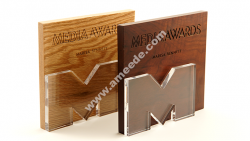 Laser Cut Custom Awards