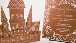 Laser Cut & Engraved Invitations