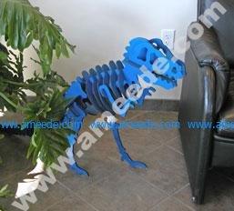 Laser Cutting a Dinosaur Model