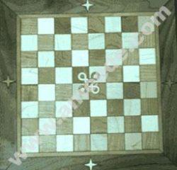 Laser Cutting a Wood Chess Board Inlay