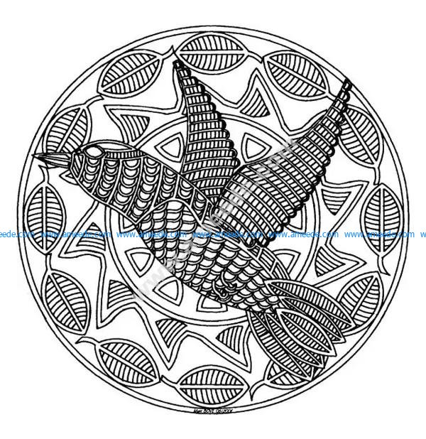 Mandala A Colorier Difficile 11 Download Free Vector