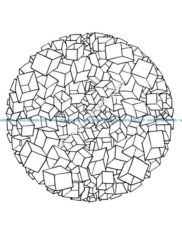 Mandala A Colorier Difficile 32 Download Free Vector