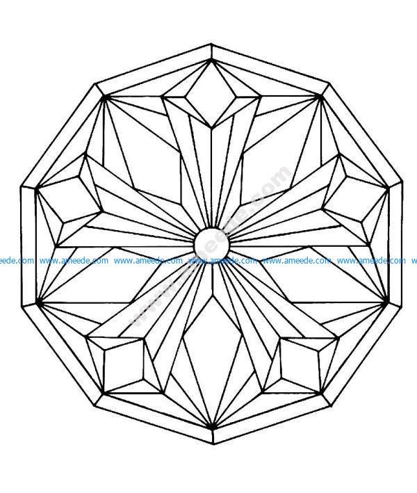 Mandala a colorier gratuit a imprimer 2