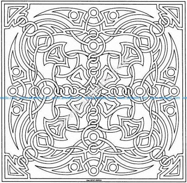 Mandala a colorier gratuit a imprimer 23