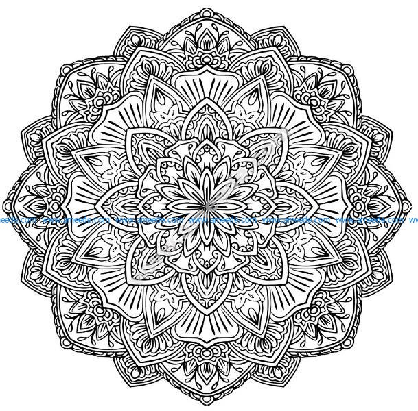 Mandala A Colorier Gratuit Fleurs Difficile Amee House