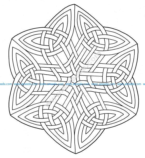 Mandala celtique 16