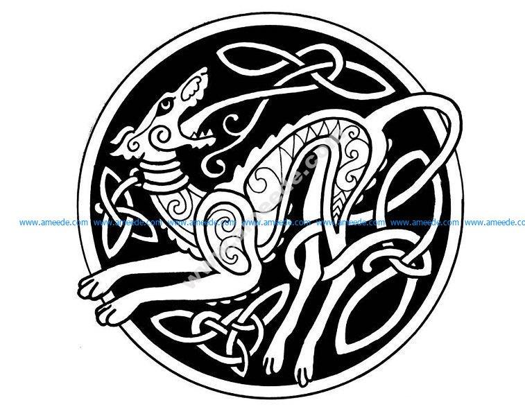 Mandala celtique 2