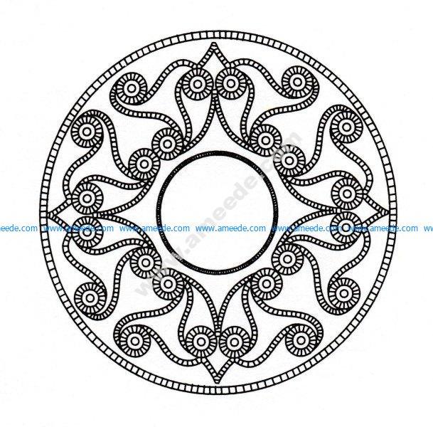 Mandala celtique 21