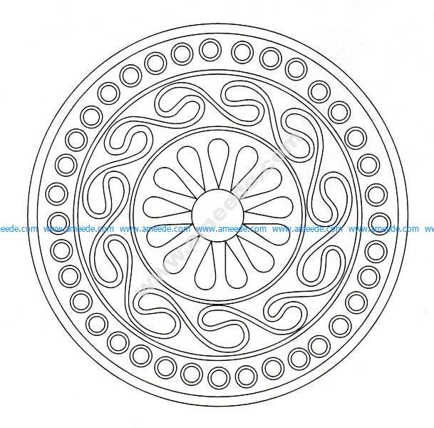 Mandala celtique 24