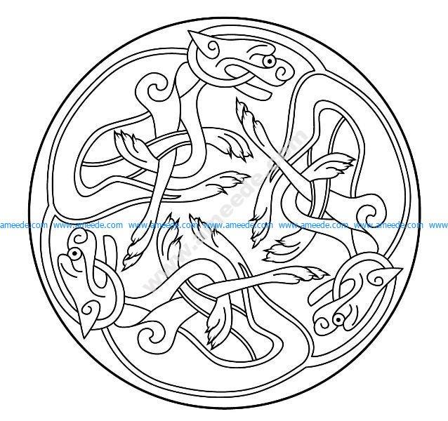 Mandala celtique 25