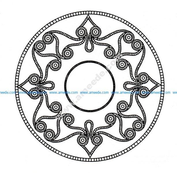 Mandala celtique 5