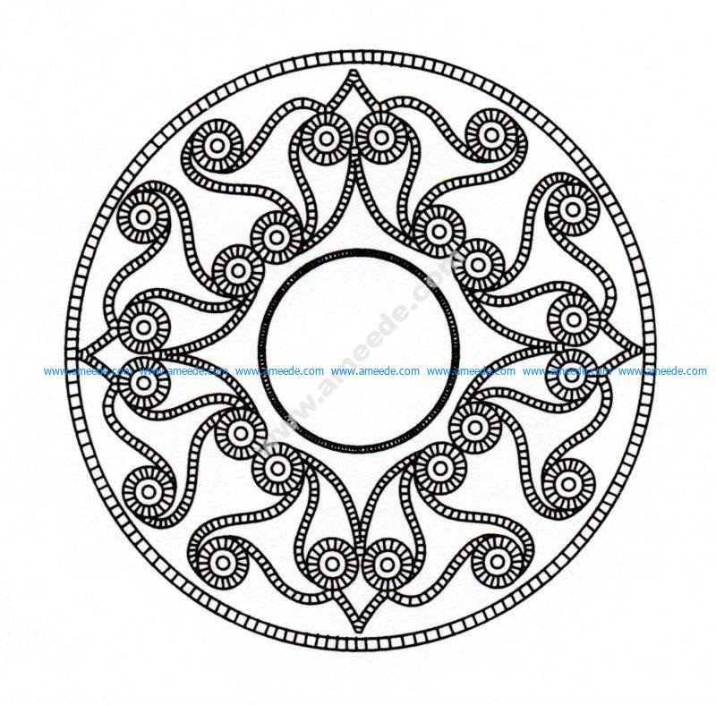 Mandala celtique 6