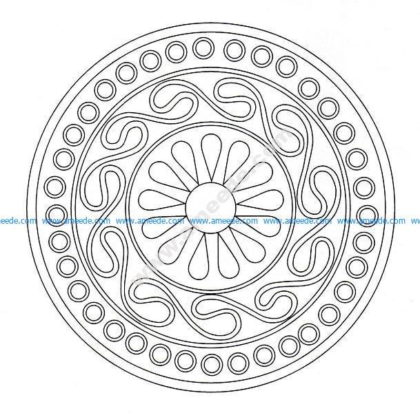 Mandala celtique 8