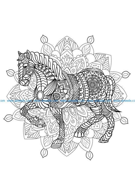 Mandala cheval 2 amee house - Mandala cheval ...