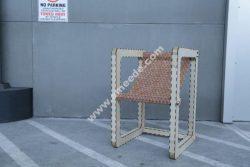 Modern Chair Laser Cut CNC Plan