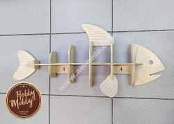 Polka Ryba Fish Shelf