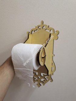 Toilet Paper Holder Laser cut