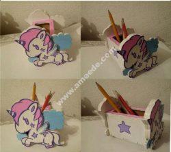 Unicorn Desk Organizer