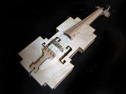 8-bit violin