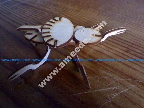 Abstract Plywood Spider Insect