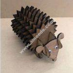 Hedgehog coasters