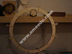 Laser Cut Gear O'Clock