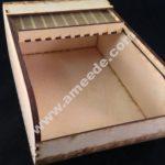 Laser Cut Roll Top Box