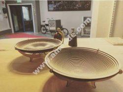 Laser cut, shape-conforming spiral bowls