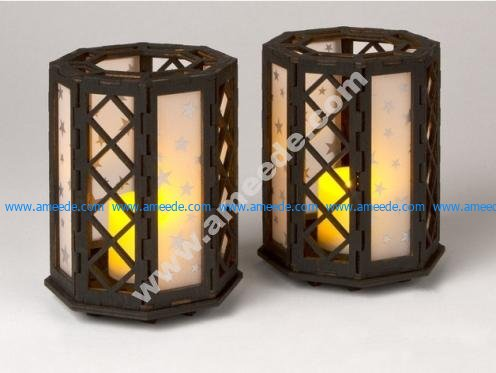 MO3D Octagonal Candle Holder