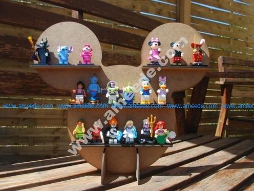 Mickey shelf for Minifig LEGO