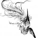 Black phoenix  vector