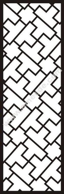 Oblique check pattern