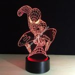3D LED Spider Man Night Light