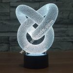 Knot 3D Illusion Lamp LED Night Lights