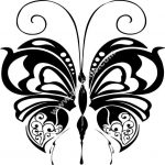 Butterfly Insect Wall Decal Sticker