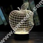 Apple 3D Illusion Lamp LED Night Lights