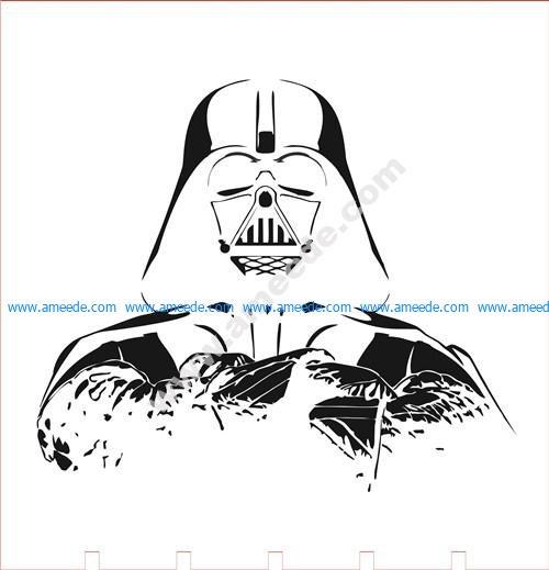 Darth Vader led lamp