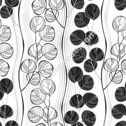 Seamless Pattern Of Abstract Branches