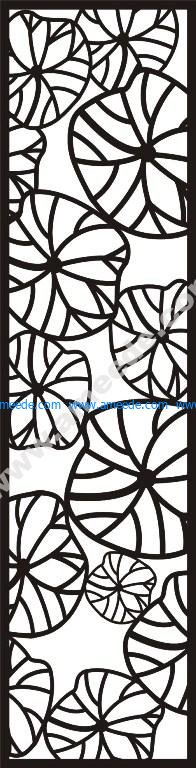 The carved tracery wall partition vector background picture style