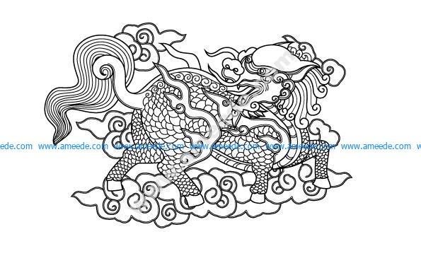 Unicorn - Vietnamese mascot