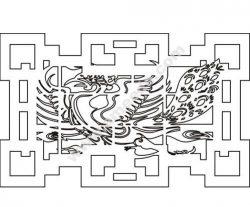 pattern vector cnc carvings 2D21